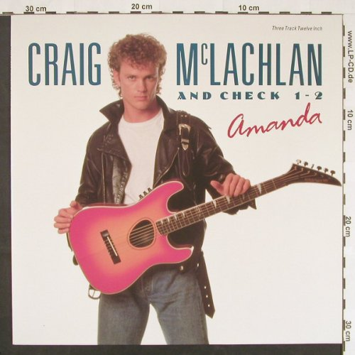 Mc Lachlan,Craig and Check 1-2: Amanda +2, Epic(656170 6), NL, 1990 - 12inch - C9831 - 2,50 Euro