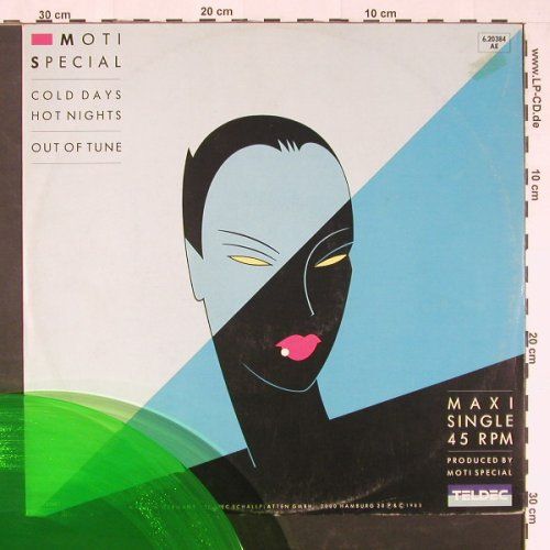 Moti Special: Cold Days Hot Nights+1,Green Vinyl, Teldec(6.20384 AE), D, 1985 - 12inch - C9874 - 2,50 Euro