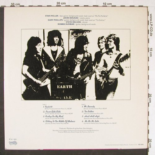 Earthquake: Rocking The World, Beserkley(BZ-0045), US, 1975 - LP - C9893 - 6,00 Euro