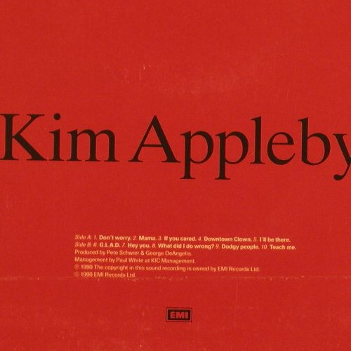 Appleby,Kim: Same, FS-New, EMI(064-7954671), D, 1990 - LP - C9942 - 5,00 Euro