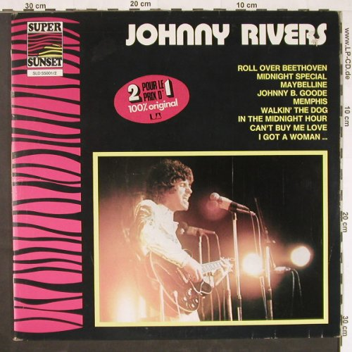 Rivers,Johnny: Same,Super Sunset, Foc, Ri, Sunset(SLD 55001/2), F,  - 2LP - E1013 - 6,50 Euro