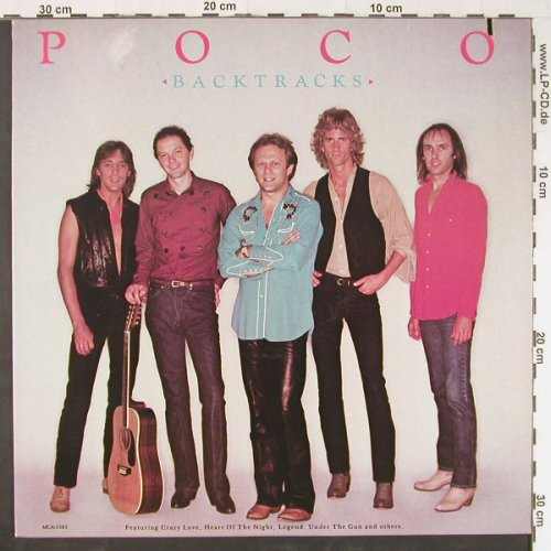 Poco: Backtracks, co, MCA(5363), US, 1982 - LP - E1020 - 5,00 Euro