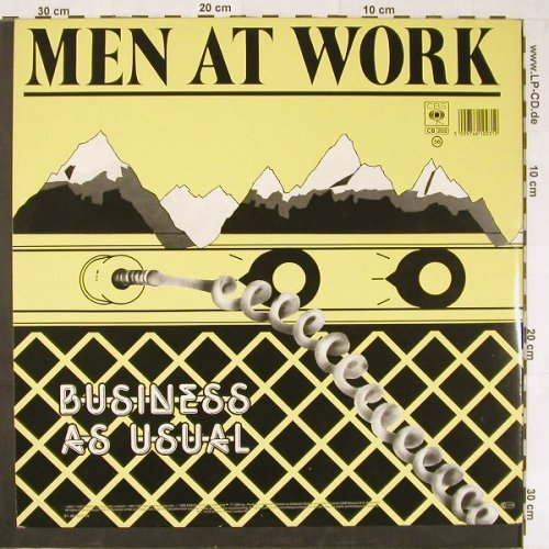 Men At Work: Cargo / Business As Usual, Foc, CBS(461023 1), NL, 1988 - 2LP - E1036 - 7,50 Euro