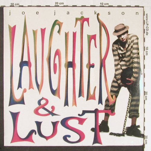 Jackson,Joe: Laughter & Lust, FS-New, Virgin(VUSLP 34), D, 1991 - LP - E104 - 5,50 Euro
