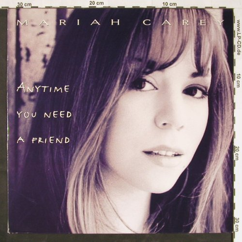 Carey,Mariah: Anytime You Need A Friend*4, Columb.(660354 6), NL, 1993 - 12inch - E1073 - 3,00 Euro