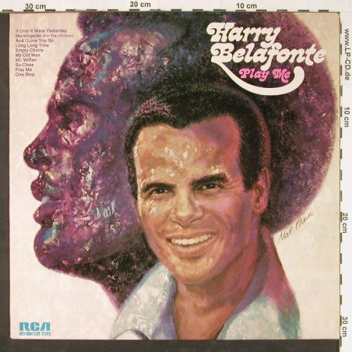Belafonte,Harry: Play Me, RCA(APL1-0094), D, 1973 - LP - E1101 - 4,00 Euro