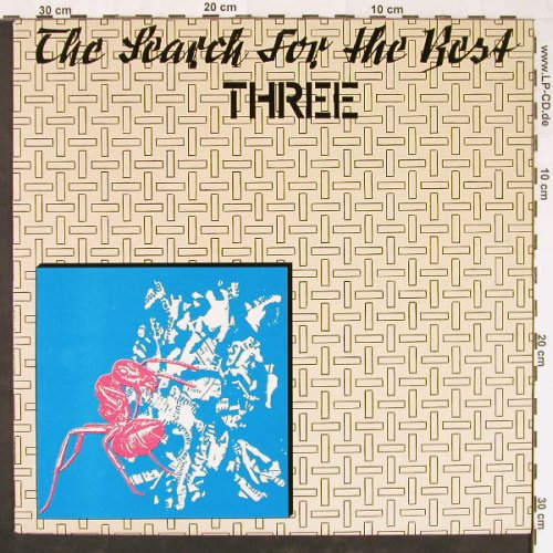 V.A.The Search Of The Best: Three, 14 Tr., Red Rosetten Rec.(RRP 013), D,  - LP - E1145 - 12,50 Euro