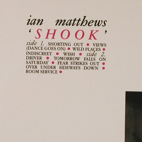 Matthews,Ian: Shook, FS-New, Line(6.25784 BO), D, 1984 - LP - E1160 - 7,50 Euro