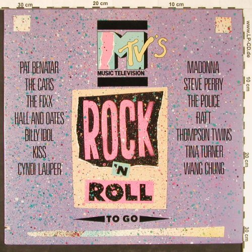 V.A.MTV's: Rock 'n Roll to go, co, Elektra(9 60399-1-E), US, 1985 - LP - E1176 - 5,00 Euro