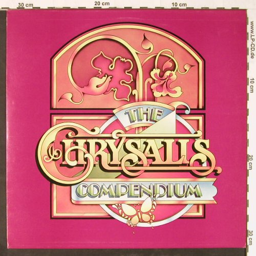 V.A.The Chrysalis Compendium: The Sound Of Hush Music,Demo Promo, Chrysalis(CH M2), UK, 1975 - LP - E1326 - 7,50 Euro