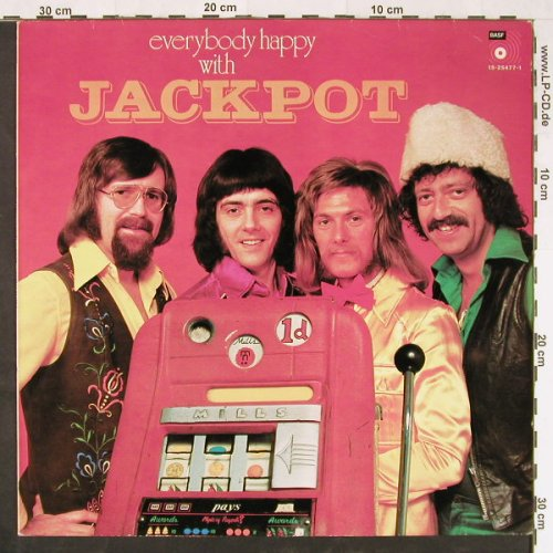 Jackpot: Everybody's Happy With, BASF(15-25477-1), NL,  - LP - E1396 - 5,00 Euro