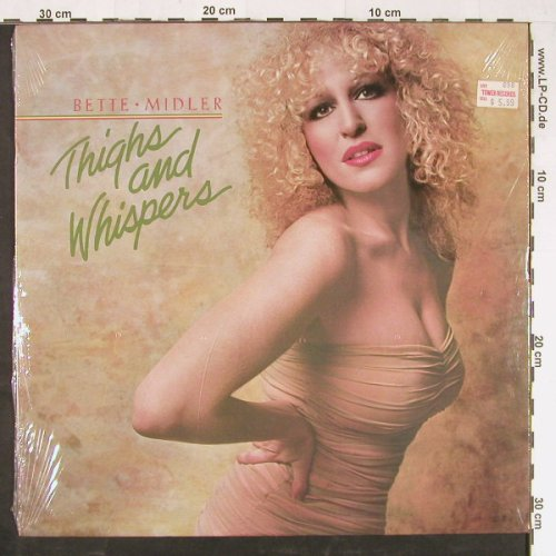 Midler,Bette: Thighs And Whispers, FS-New, Atlantic(SD 16004), US, 1979 - LP - E1398 - 7,50 Euro