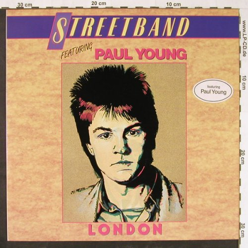 Streetband: London, feat Paul Young, Logo(823 868-1 ME), D, 1979 - LP - E1423 - 4,00 Euro