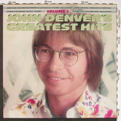 Denver,John: Greatest Hits Vol.2, RCA(PL 12195), I, 1977 - LP - E1524 - 4,00 Euro