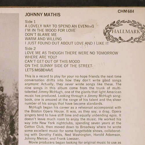 Mathis,John: Same, Hallmark(CHM 684), UK, 1970 - LP - E1606 - 3,00 Euro