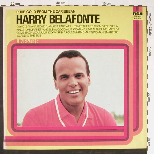 Belafonte,Harry: Pure Gold From The Caribbean, RCA(TNL1-7062), I, 1975 - LP - E1650 - 5,00 Euro