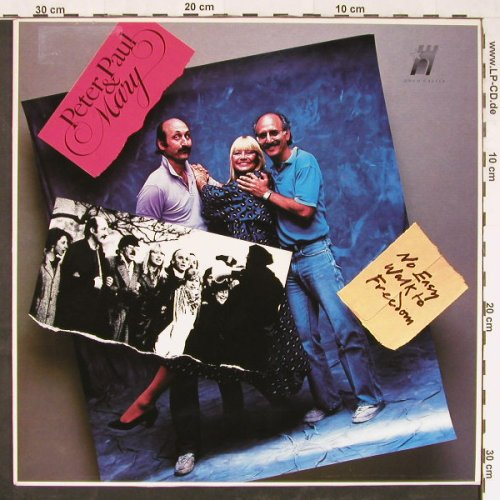 Peter,Paul & Mary: No Easy Work To Freedom, Gold Castle(VGC 2), UK, 1986 - LP - E1651 - 5,00 Euro