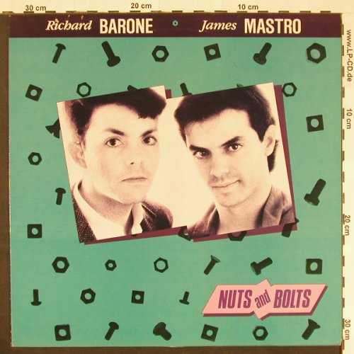 Barone,Richard & James Mastro: Nuts and Bolts, Closer Rec.(CL 0014), F, 1983 - LP - E190 - 5,50 Euro