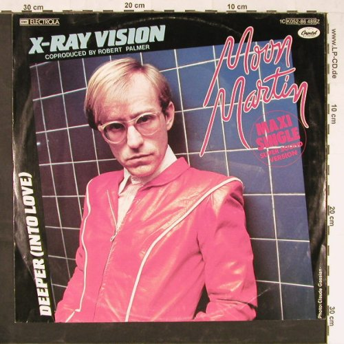 Moon Martin: X-Ry Vision, Capitol(K052-86 489), D, 1982 - 12inch - E1940 - 2,50 Euro