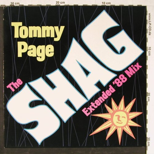 Page,Tommy: The Shag*2+1, Sire(921 057-0), D, 1988 - 12inch - E2028 - 2,50 Euro
