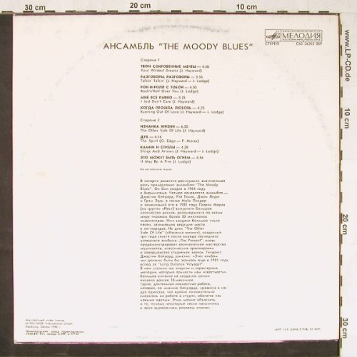 Moody Blues: The Other Side Of Life, Melodia/Polydor(C60-26203), UDSSR, 1986 - LP - E2045 - 5,00 Euro