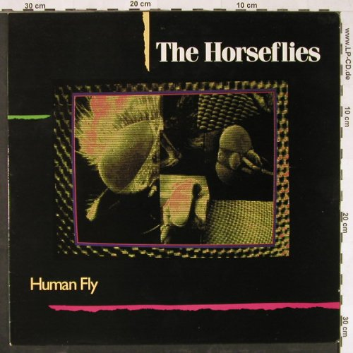 Horseflies: Human Fly, CookVinyl(COOK 013), UK, 1987 - LP - E2066 - 5,00 Euro