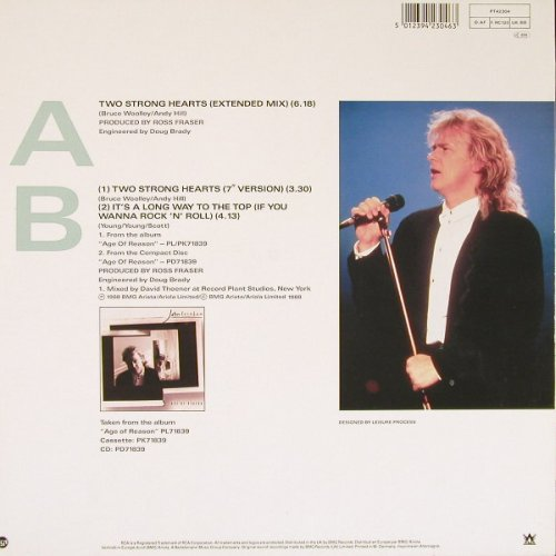 Farnham,John: Two Strong Hearts*2+1, RCA(PT42304), D, 1988 - 12inch - E2126 - 1,50 Euro