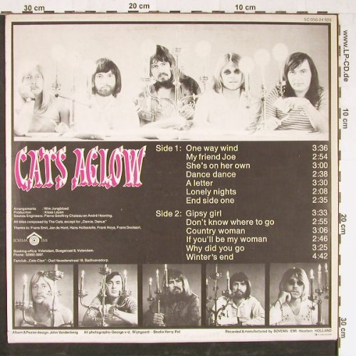 Cats: Aglow, Imperial(5C 056-24 500), NL,  - LP - E2129 - 7,50 Euro
