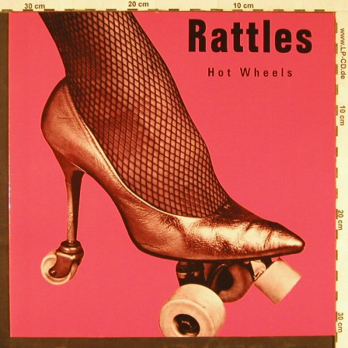 Rattles: Hot Wheels, ACT(836 630-1), D, 1988 - LP - E2194 - 5,00 Euro