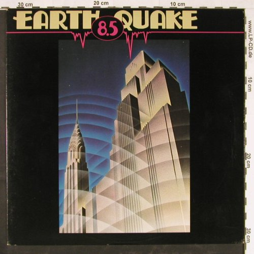 Earth Quake: 8,5, Beserkley(JBZ-0047), US, 1976 - LP - E2197 - 5,00 Euro