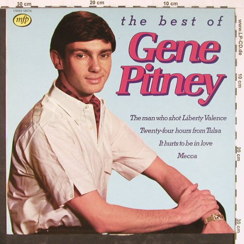 Pitney,Gene: The Best Of, m-/vg+, MFP(1A022-58076), NL, 1981 - LP - E2282 - 4,00 Euro