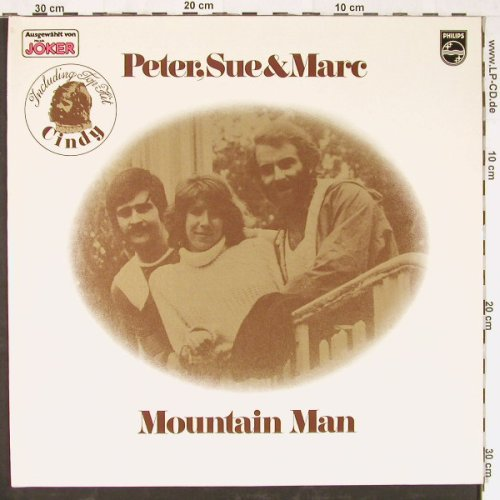 Peter,Sue & Marc: Mountain Man,Foc, Philips(6305 334), D, 1977 - LP - E2285 - 5,00 Euro
