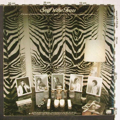 Sniff'n'The Tears: The Game's Up, Atlantic(SD 19272), US, 1980 - LP - E237 - 5,00 Euro