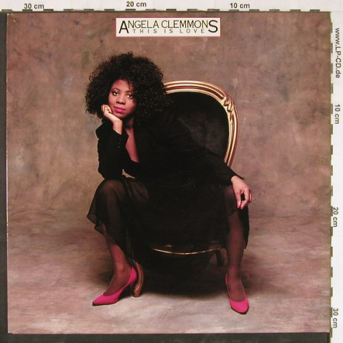 Clemmoms,Angela: This is Love, Portrait(450889 1), UK, 1987 - LP - E2421 - 5,00 Euro