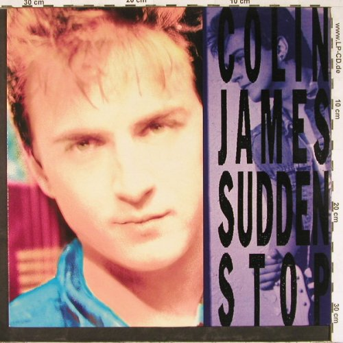James,Colin: Sudden Stop, Virgin(210 893), UK, 1990 - LP - E2441 - 4,00 Euro