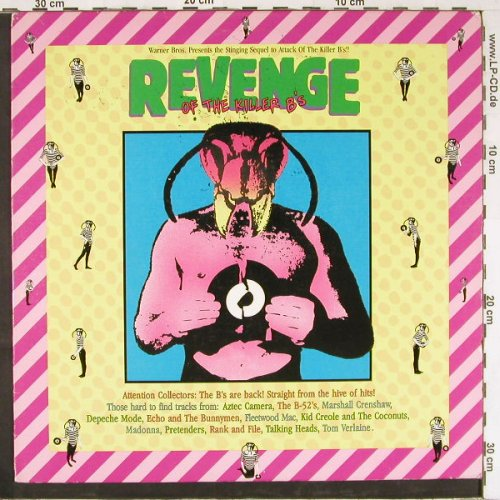V.A.Revenge Of The Killer B's: Vol. 2, 12 Tr., WB(1-25068), US, 1984 - LP - E2560 - 5,00 Euro