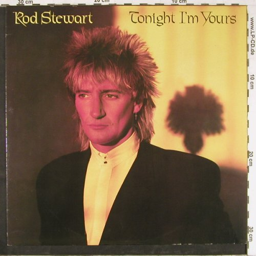 Stewart,Rod: Tonight I'm Yours, Facts, WEA(K 56 951), D, 1981 - LP - E2582 - 7,50 Euro