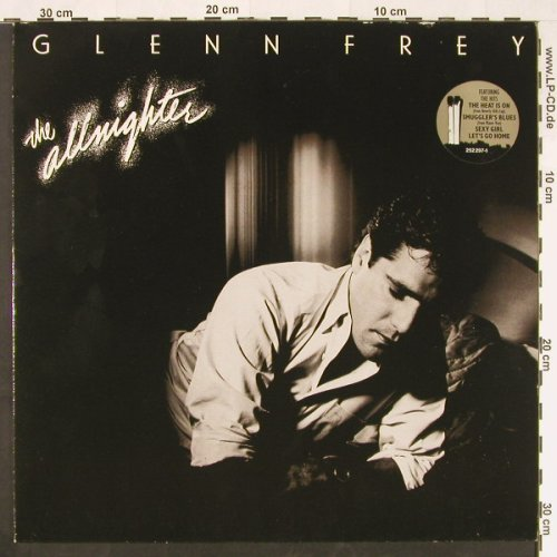 Frey,Glenn: The Allnighter, MCA(252 297-1), D, 1984 - LP - E258 - 5,00 Euro