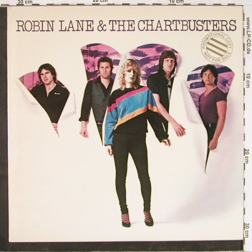 Lane,Robin & The Chartbusters: Same, Promo, WB(BSK 3424), US, 1980 - LP - E2596 - 7,50 Euro