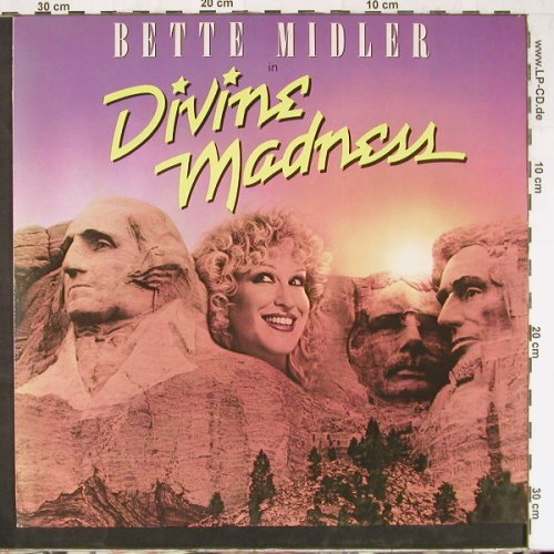 Midler,Bette: Divine Madness, OST, Atlantic(ATL 50 760), D, 1980 - LP - E2674 - 4,00 Euro