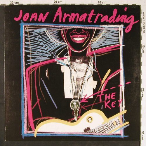 Armatrading,Joan: The Key, AM(LX 64912), NL, 1983 - LP - E2809 - 4,00 Euro