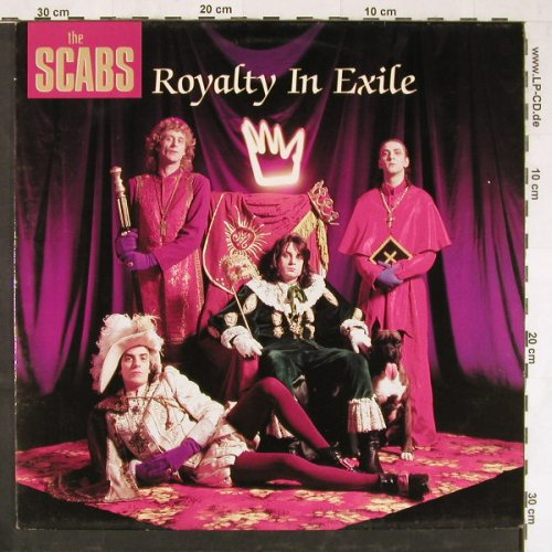 Scabs: Royality In Exile, Play it ag(BIAS 160), NL,  - LP - E2815 - 5,00 Euro