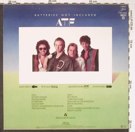 After The Fire: Batteries Not Included, Epic(85 135), NL, 1982 - LP - E2919 - 4,00 Euro