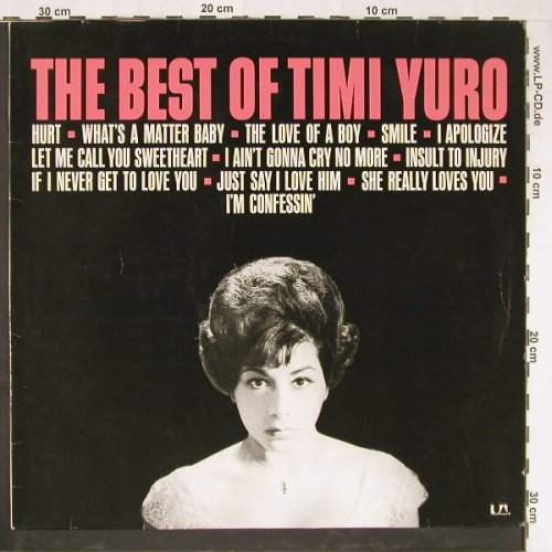 Yuro,Timi: The Best Of, UA(UAS 29 622 I), D, 1974 - LP - E2933 - 5,50 Euro