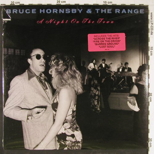 Hornsby,Bruce+the Range: A Night On The Town, co, FS-New, RCA(2041-1-R), US, 1990 - LP - E2987 - 7,50 Euro