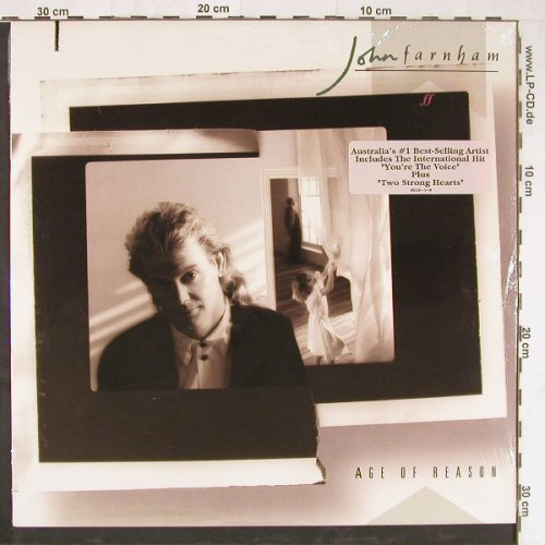 Farnham,John: Age Of Reason, co, FS-New, RCA(9935-1-R), US, 1988 - LP - E2988 - 7,50 Euro