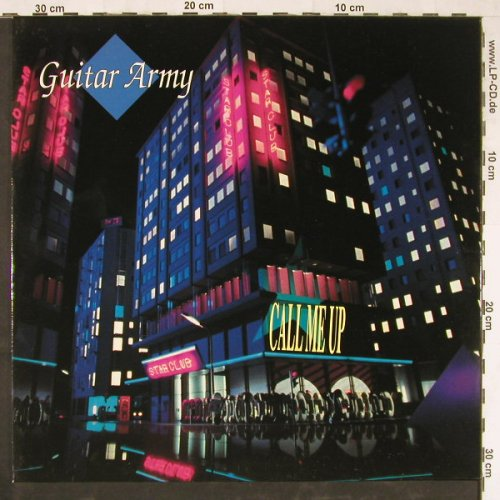 Guitar Army: Call Me Up *3+1, RCA(PT 44 550), D, 1991 - 12inch - E2989 - 3,00 Euro