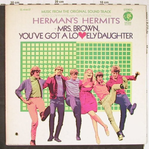 Herman's Hermits: Mrs.Brown,You've Got-Soundtrack,Foc, MGM(SE-4548 ST), US,  - LP - E3013 - 10,00 Euro