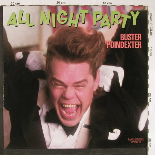 Poindexter,Buster: All Night Party*4, RCA(PT49352), D, 1989 - 12inch - E3052 - 4,00 Euro