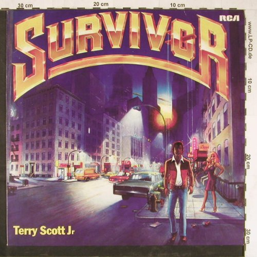 Scott Jr.,Terry: Survivor, RCA(PL 30058), D, 1979 - LP - E3080 - 5,00 Euro